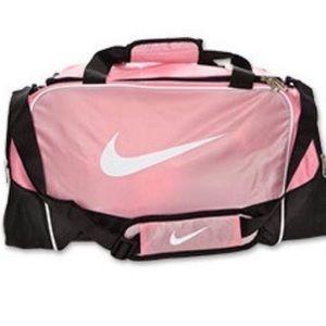 Pink Nike Duffle Bag